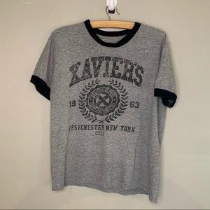 Funkos Marvel t shirt grey black size medium